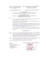 Nghị quyết Đại hội cổ đông thường niên năm 2012 - Công ty Cổ phần Kỹ nghệ Khoáng sản Quảng Nam