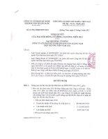 Nghị quyết đại hội cổ đông ngày 21-05-2011 - Công ty Cổ phần Kỹ nghệ Khoáng sản Quảng Nam