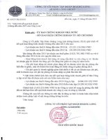 Báo cáo tài chính công ty mẹ quý 2 năm 2015 (đã soát xét) - Công ty Cổ phần Tập đoàn Hoàng Long