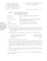 Báo cáo tài chính công ty mẹ quý 3 năm 2014 - Công ty Cổ phần Nhựa Thiếu niên Tiền Phong