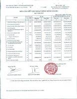 Báo cáo tài chính công ty mẹ quý 3 năm 2010 - Công ty Cổ phần Đầu tư và Dịch vụ Khánh Hội