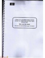 Báo cáo tài chính năm 2015 (đã kiểm toán) - Công ty cổ phần Phát hành Sách và Thiết bị Trường học Hưng Yên