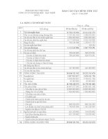 Báo cáo tài chính quý 2 năm 2009 - Công ty Cổ phần Sách Đại học - Dạy nghề