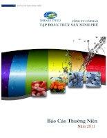 Báo cáo thường niên năm 2011 - Công ty Cổ phần Tập đoàn Thủy sản Minh Phú
