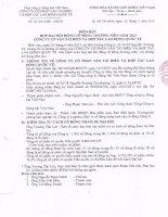 Nghị quyết Đại hội cổ đông thường niên năm 2013 - CTCP Vận tải biển & Hợp tác Quốc tế
