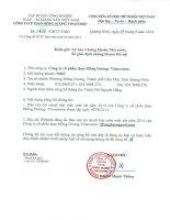 Báo cáo tài chính quý 2 năm 2014 (đã soát xét) - Công ty cổ phần Than Mông Dương - Vinacomin