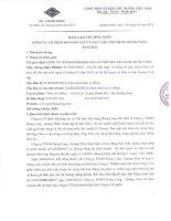 Báo cáo thường niên năm 2012 - Công ty cổ phần Khoáng sản và Vật liệu Xây dựng Hưng Long