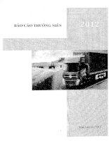 Báo cáo thường niên năm 2011 - Công ty Cổ phần Đầu tư Dịch vụ Hoàng Huy