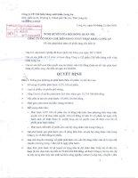 Nghị quyết Hội đồng Quản trị ngày 04-12-2009 - Công ty Cổ phần Chế biến Hàng xuất khẩu Long An