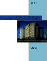 Báo cáo thường niên năm 2011 - Công ty Cổ phần Cơ điện và Xây dựng Việt Nam