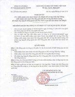Nghị quyết Hội đồng Quản trị - Công ty Cổ phần Tư vấn Dự án Quốc tế KPF