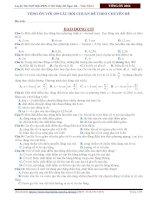 Tổng ôn 199 câu hỏi lý thuyết môn Vật Lý luyện thi THPT quốc gia ( thầy Đỗ Ngọc Hà )