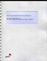 Báo cáo tài chính hợp nhất năm 2013 (đã kiểm toán) - Công ty CP Sản xuất hàng gia dụng Quốc tế