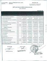 Báo cáo KQKD công ty mẹ quý 3 năm 2010 - Công ty Cổ phần Hữu Liên Á Châu