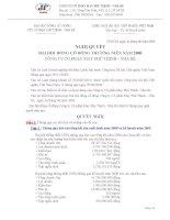 Nghị quyết Đại hội cổ đông thường niên năm 2008 - Công ty Cổ phần May Phú Thịnh - Nhà Bè