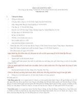 Báo cáo thường niên năm 2013 - Công ty cổ phần Sản xuất - Xuất nhập khẩu Thanh Hà