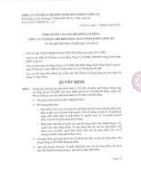 Nghị quyết đại hội cổ đông ngày 11-1-2010 - Công ty Cổ phần Chế biến Hàng xuất khẩu Long An
