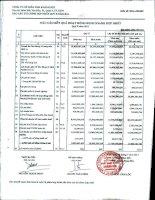 Báo cáo tài chính hợp nhất quý 2 năm 2011 - Công ty Cổ phần Đầu tư và Dịch vụ Khánh Hội