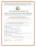 Bản cáo bạch - Công ty cổ phần Xây dựng Công trình 510