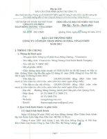 Báo cáo thường niên năm 2012 - Công ty cổ phần Than Mông Dương - Vinacomin