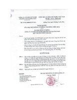 Nghị quyết Đại hội cổ đông thường niên năm 2014 - Công ty Cổ phần Kỹ nghệ Khoáng sản Quảng Nam