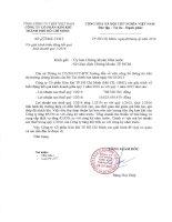 Báo cáo tài chính quý 1 năm 2016 - Công ty Cổ phần Kim khí Thành phố Hồ Chí Minh