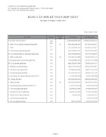 Báo cáo tài chính hợp nhất quý 4 năm 2012 - Công ty Cổ phần Tập đoàn Kido