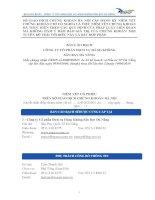 Bản cáo bạch năm 2014 - Công ty cổ phần Dịch vụ Hàng không Sân bay Đà Nẵng