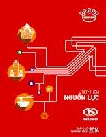 Báo cáo thường niên năm 2014 - Công ty Cổ phần Tập đoàn Kido