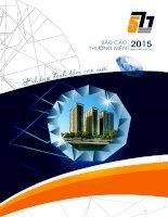 Báo cáo thường niên năm 2015 - Công ty Cổ phần Đầu tư Năm Bảy Bảy
