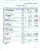 Báo cáo tài chính hợp nhất quý 3 năm 2010 - Công ty Cổ phần Điện lực Khánh Hòa