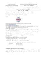Báo cáo thường niên năm 2008 - Công ty Cổ phần Chế biến Thủy sản Xuất khẩu Ngô Quyền