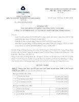 Nghị quyết đại hội cổ đông ngày 20-09-2009 - Công ty cổ phần Đầu tư và Phát triển Đô thị Long Giang