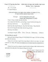 Nghị quyết Đại hội cổ đông thường niên - Công ty cổ phần Tập đoàn Hòa Phát