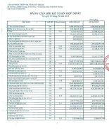 Báo cáo tài chính hợp nhất quý 3 năm 2014 - Công ty Cổ phần Phát triển Hạ tầng Kỹ thuật