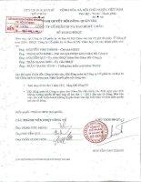 Nghị quyết Hội đồng Quản trị ngày 07-11-2011 - Công ty cổ phần In và Bao bì Mỹ Châu