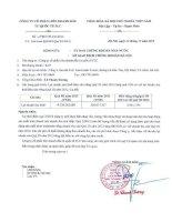 Báo cáo tài chính công ty mẹ quý 3 năm 2013 - Công ty Cổ phần Liên doanh Đầu tư Quốc tế KLF