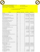 Báo cáo tài chính quý 4 năm 2010 - Công ty Cổ phần Đá Xây dựng Hoà Phát