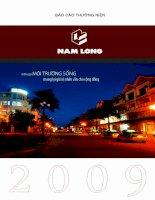 Báo cáo thường niên năm 2009 - Công ty cổ phần Đầu tư Nam Long