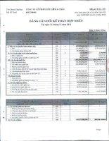 Báo cáo tài chính hợp nhất quý 1 năm 2012 - Công ty Cổ phần Hữu Liên Á Châu
