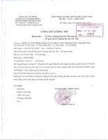 Nghị quyết Hội đồng Quản trị - CTCP Quản lý và Khai thác Hầm Đường Bộ Hải Vân