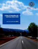 Báo cáo thường niên năm 2011 - Công ty Cổ phần Hữu Liên Á Châu