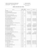 Báo cáo tài chính quý 2 năm 2011 - Công ty Cổ phần Gạch ngói Kiên Giang