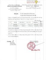 Báo cáo tài chính hợp nhất quý 3 năm 2014 - Công ty Cổ phần Someco Sông Đà