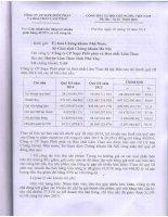 Báo cáo tài chính quý 3 năm 2014 - Công ty cổ phần Supe Phốt phát và Hóa chất Lâm Thao