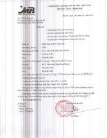 Báo cáo tài chính hợp nhất quý 4 năm 2013 - Ngân hàng Thương mại Cổ phần Quân đội