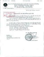Nghị quyết Hội đồng Quản trị ngày 18-11-2010 - Công ty Cổ phần Khoáng sản và Vật liệu xây dựng Lâm Đồng