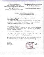 Báo cáo tài chính quý 2 năm 2015 - Công ty cổ phần Than Mông Dương - Vinacomin