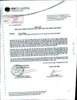 Báo cáo kết quả kinh doanh hợp nhất soát xét quý 2 năm 2012 - Công ty Cổ phần Khoáng sản và Vật liệu xây dựng Lâm Đồng