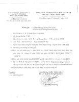 Báo cáo tài chính quý 2 năm 2015 - Công ty Cổ phần Nhiệt điện Ninh Bình